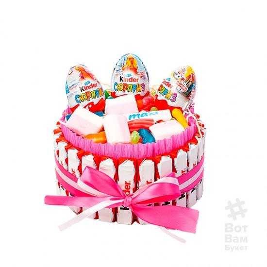 Торт из киндера - Сладкий