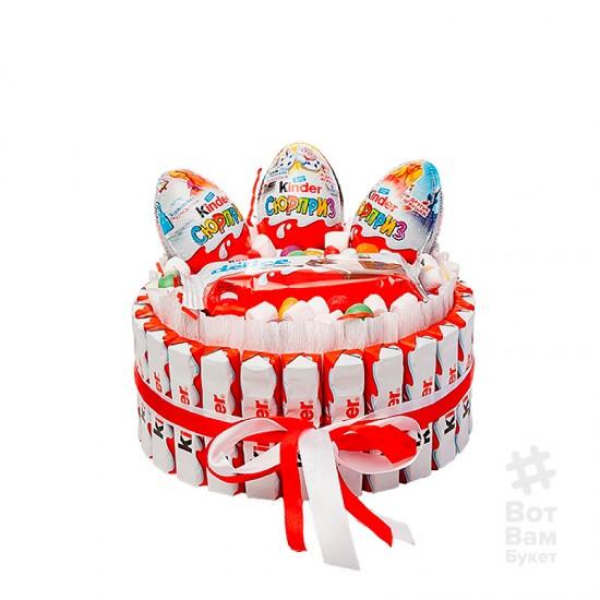 Торт из киндера - Сюрприз