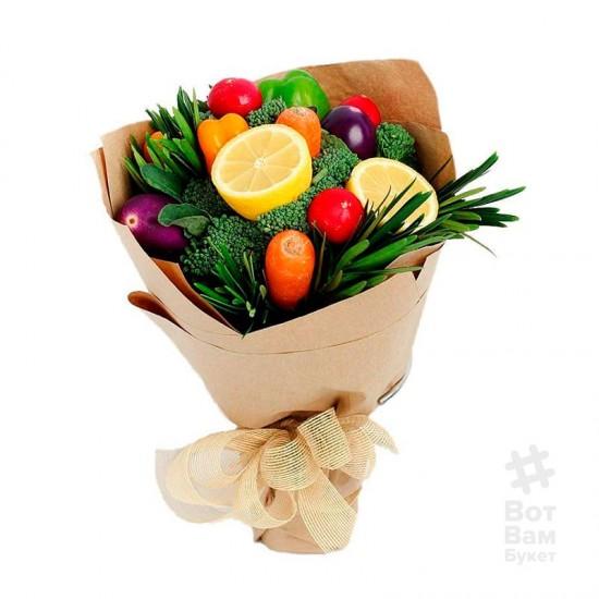 Букет из овощей и лимона